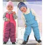 Выбираем детский зимний полукомбинезон