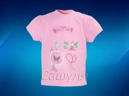 Футболка для девочки (Mariquita 40084)