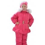 Зимний комплект для девочки (Люксик 120715)