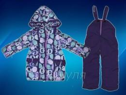 Зимний комплект для девочки (Одягайко 2188-1)
