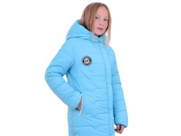 Зимнее пальто для девочки (Люксик Лиза)