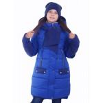 Зимнее пальто для девочки (Люксик 120202)