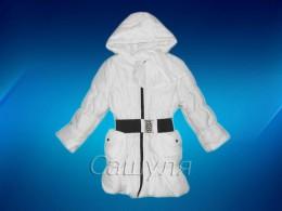 Пальто для девочки (Одягайко 2116)