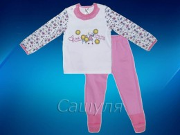 Пижама для девочки (Смил 104302-86)
